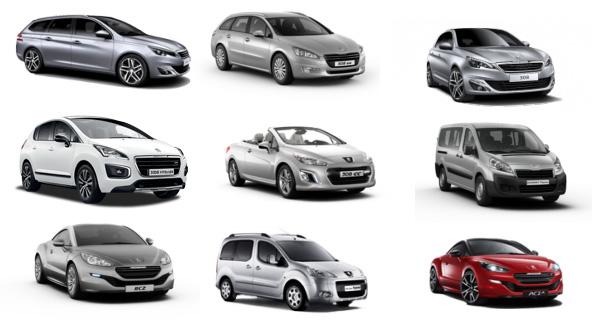 Peugeot-konfigurieren